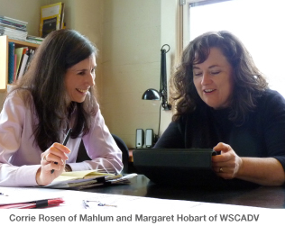 Corrie Rosen of Mahlum and Margaret Hobart of WSCADV